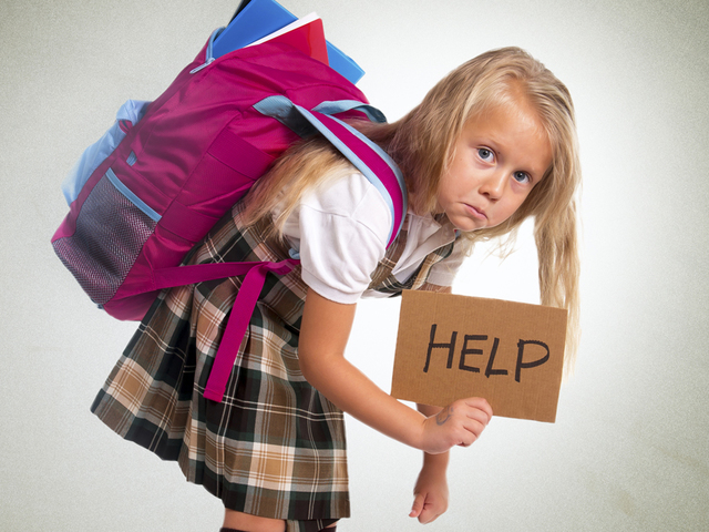 cure your child u0026 39 s back pain caused by heavy bags with