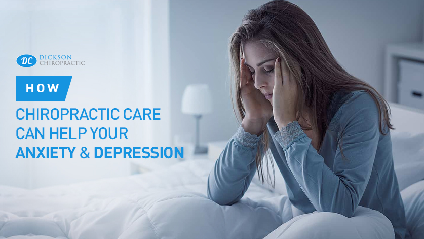 Chiropractic care for Anxiety and Depression