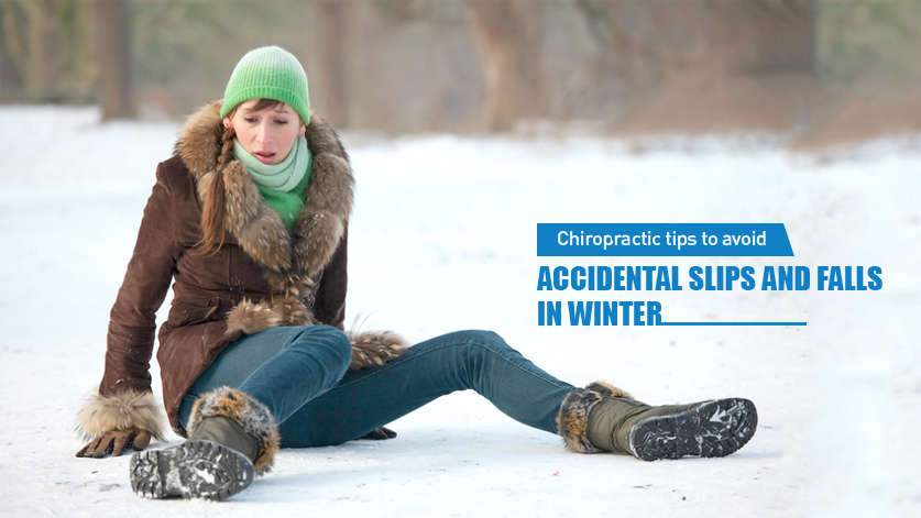 accidental slip and fall